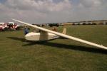 Altes Segelflugzeug