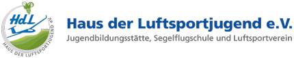 Haus der Luftsportjugend e.V. Logo