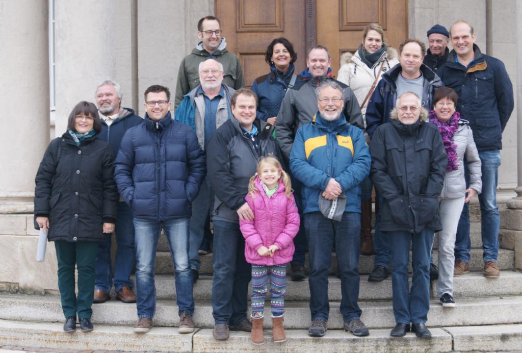 Gruppe Naumburg Gastpersonaltreffen