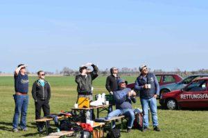 Luftraumbeobachtung Segelkunstflug